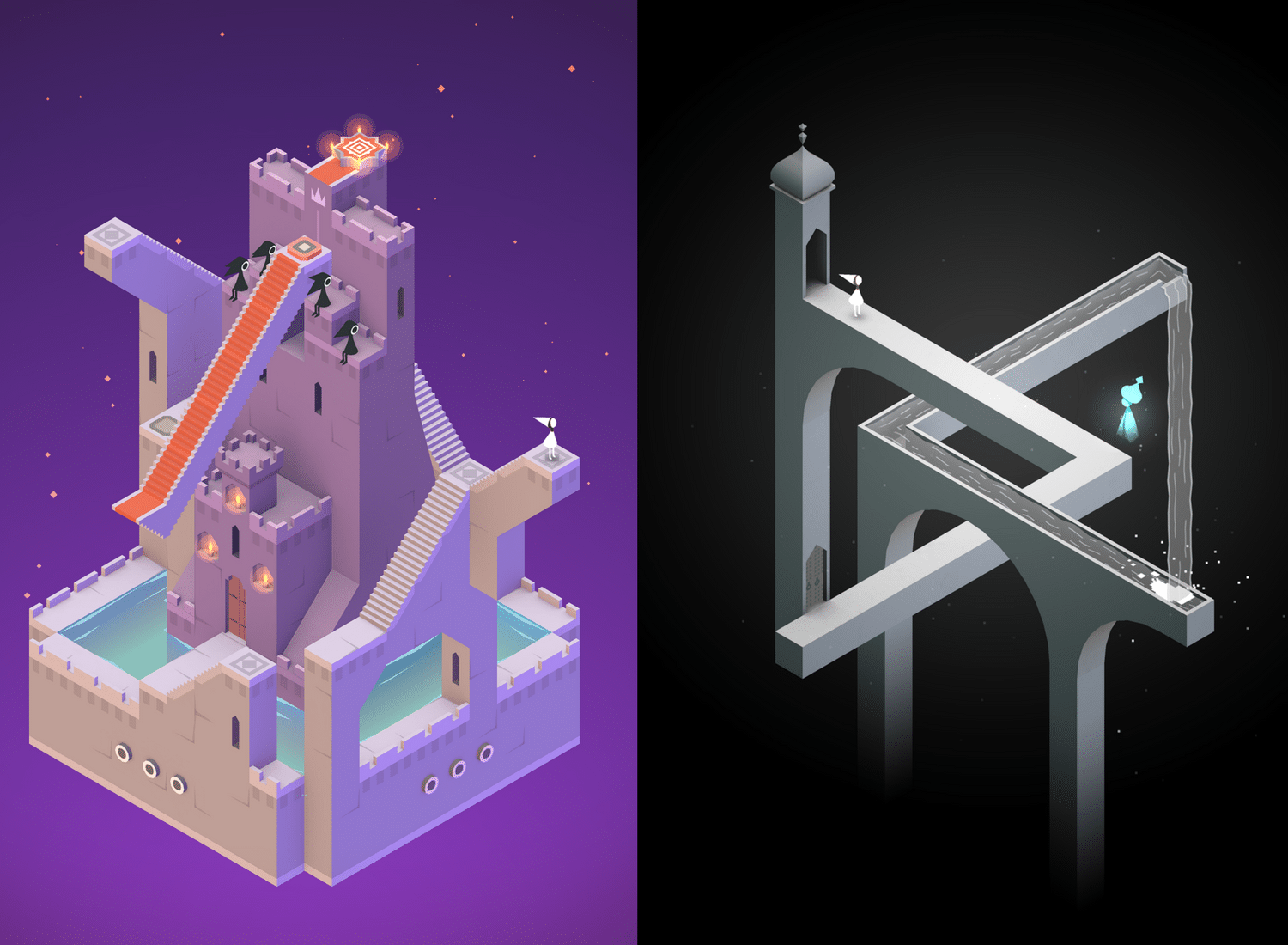 Monument Valley's mazes and puzzling colorful frames